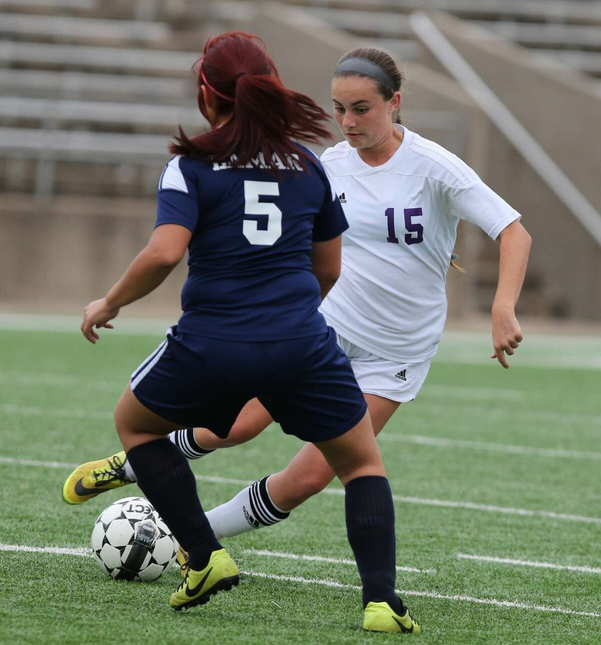 Courtney Pawlik scored three goals as Ridge Point routed Nederland 6-0 to advance to the Region III-5A quarterfinals. The Lady Panthers won their fifth straight area championship.