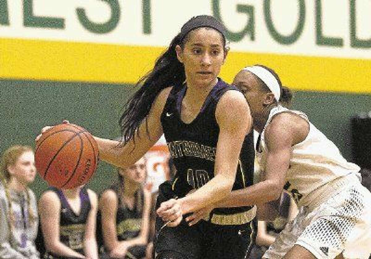 Montgomery senior Veronica Thayer is The Courier's Offensive Player of the Year.