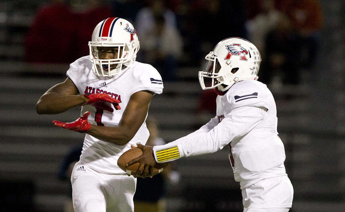 Atascocita's Quan Shorts is sixth in the area in receiving while Niyl Campbell is seventh in passing and sixth in rushing for the playoff bound Eagles.
