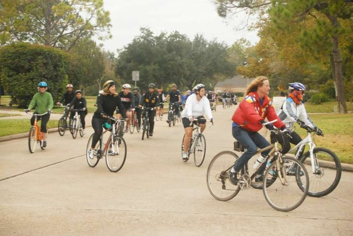Riders enjoy the Brazos River Bike Rally in 2013. The rally returns in early September with three different routes for residents and visitors.