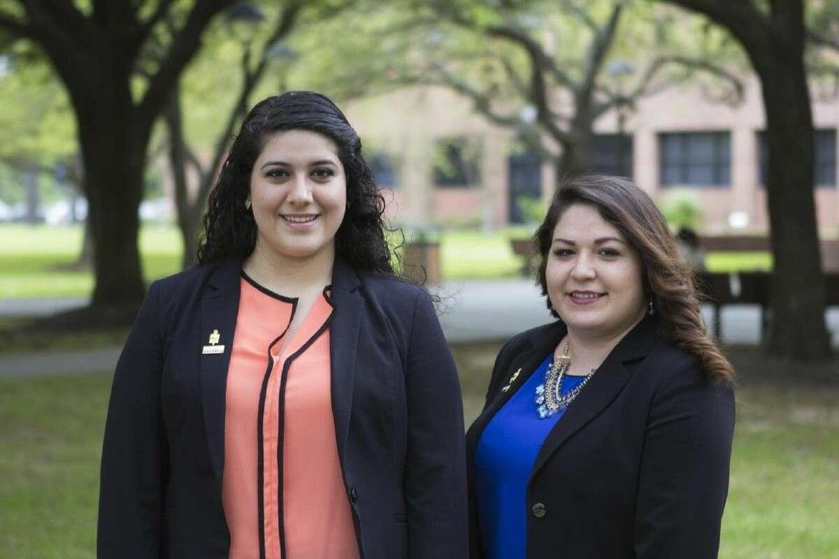 Tiffany Avalos-Lopez, left, and Maria Gonzalez-Trevino.