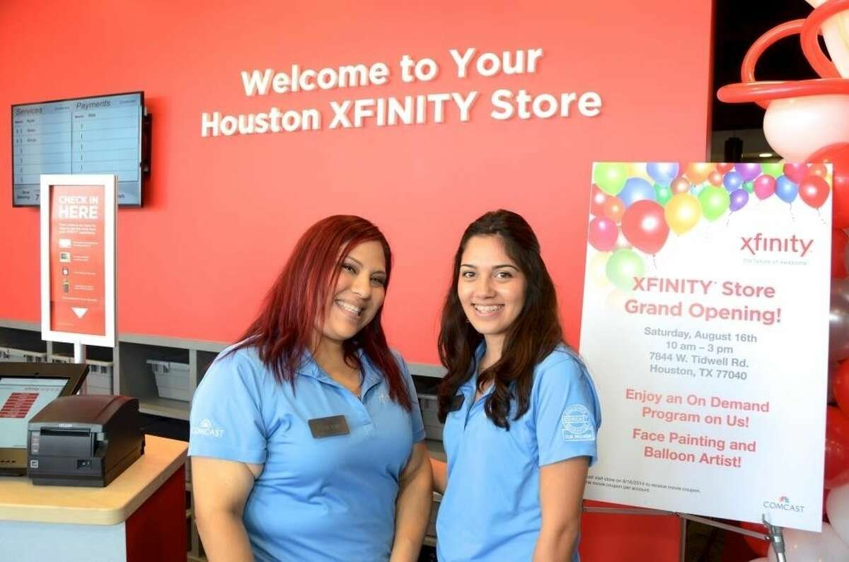 Employees at the new XFINITY store located at 7844 W Tidwell Road.