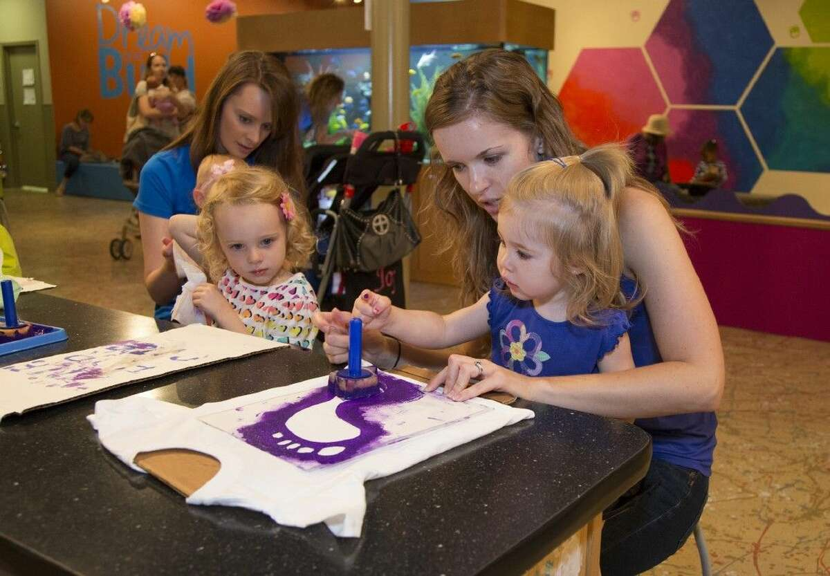 Make tracks to The Woodlands Children's Museum on Tuesday, May 10, where you can kick off your shoes at the TOMS One Day Without Shoes event, designed to increase awareness of how difficult life without shoes can be.