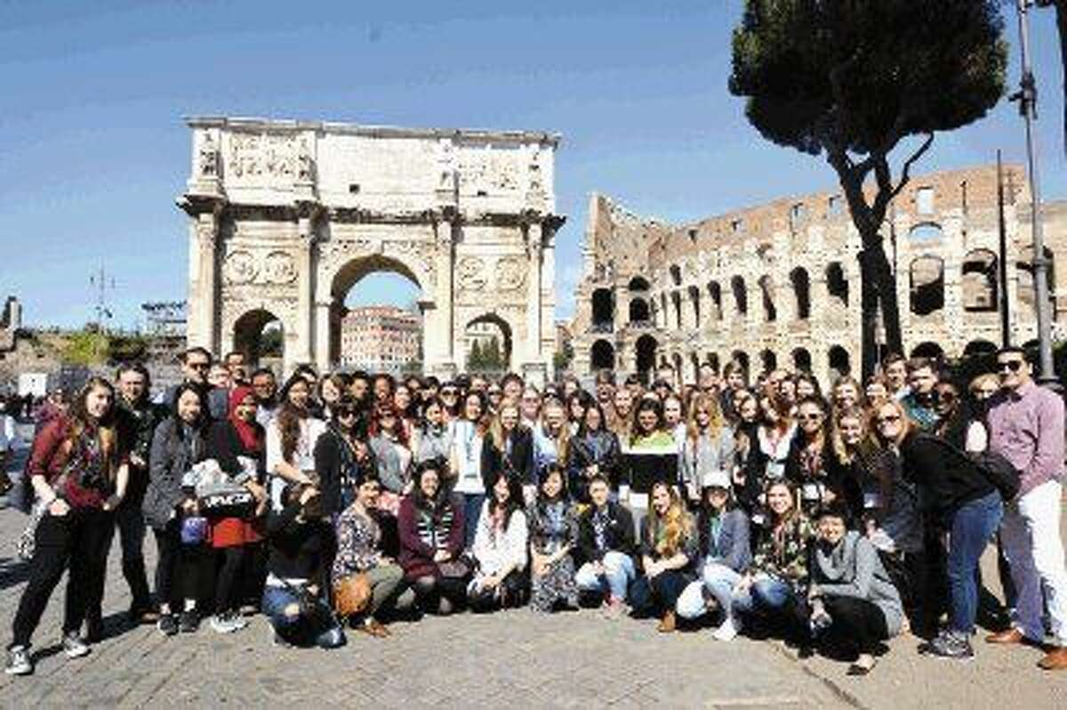Honors College at Lone Star College students spent time in Italy to conduct research for their Honors capstone projects. Pictured are LSC Honors College students who toured Venice, Florence and Rome to further their studies.