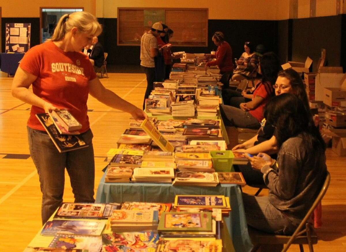The Cleveland Community Literacy Event provided numerous books to help inspire literacy in others, both young and old.