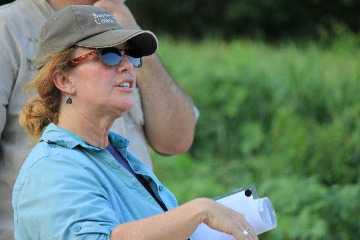 Staff photo by Minza KhanExecutive Director, Jennifer Lorenz, shares updates with members.