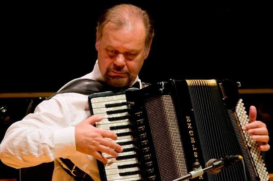 Professional accordion artist Mario Pedone. Photo: Submitted Photo