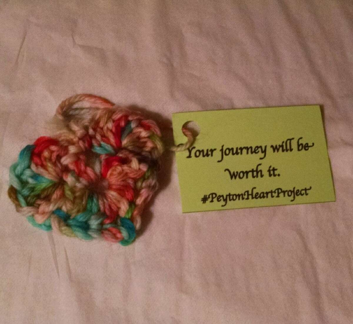 The goal of the Peyton Heart Project is to raise awareness about teen suicide and bullying.