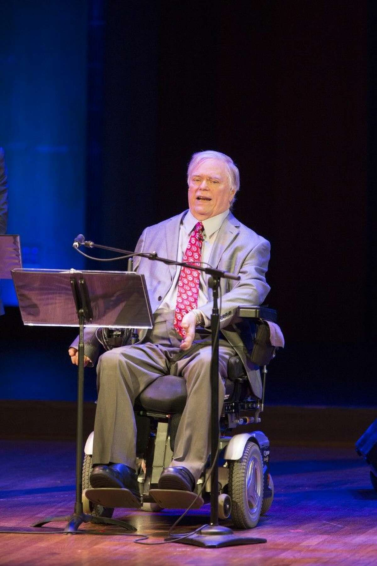 Recently in Washington, D.C., for the 25th anniversary of the Americans with Disabilities Act (ADA), UTHealth/TIRR Memorial Hermann's Lex Frieden addressed a gathering at the John F. Kennedy Center for the Performing Arts.