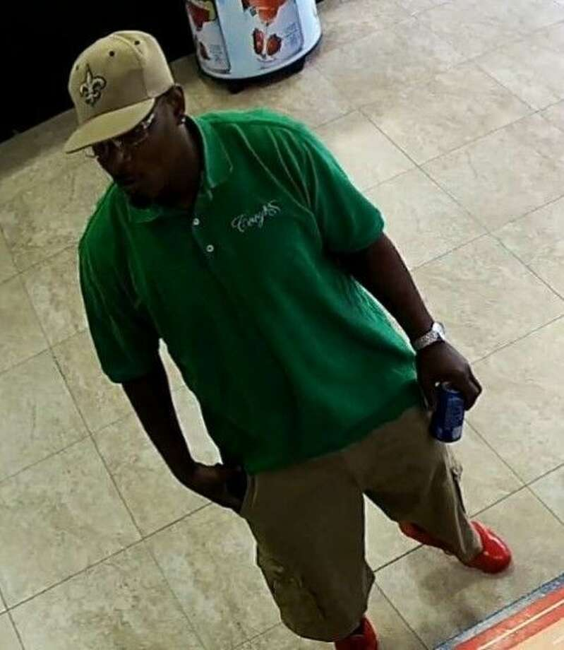 This suspect wanted in connection with a series of gas station robberies in the west Pearland area is in custody.