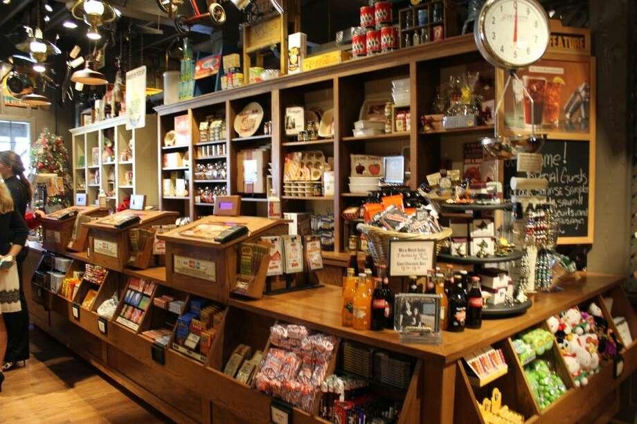 Cracker Barrel also offers a store inside their restaurants. Photo: Minza Khan