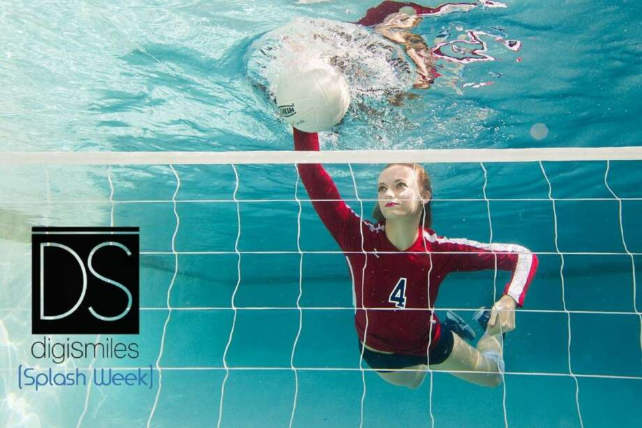 During DigiSmiles' Splash Week photo shoot, seniors were photographed underwater in poses that represented aspects of their personality.