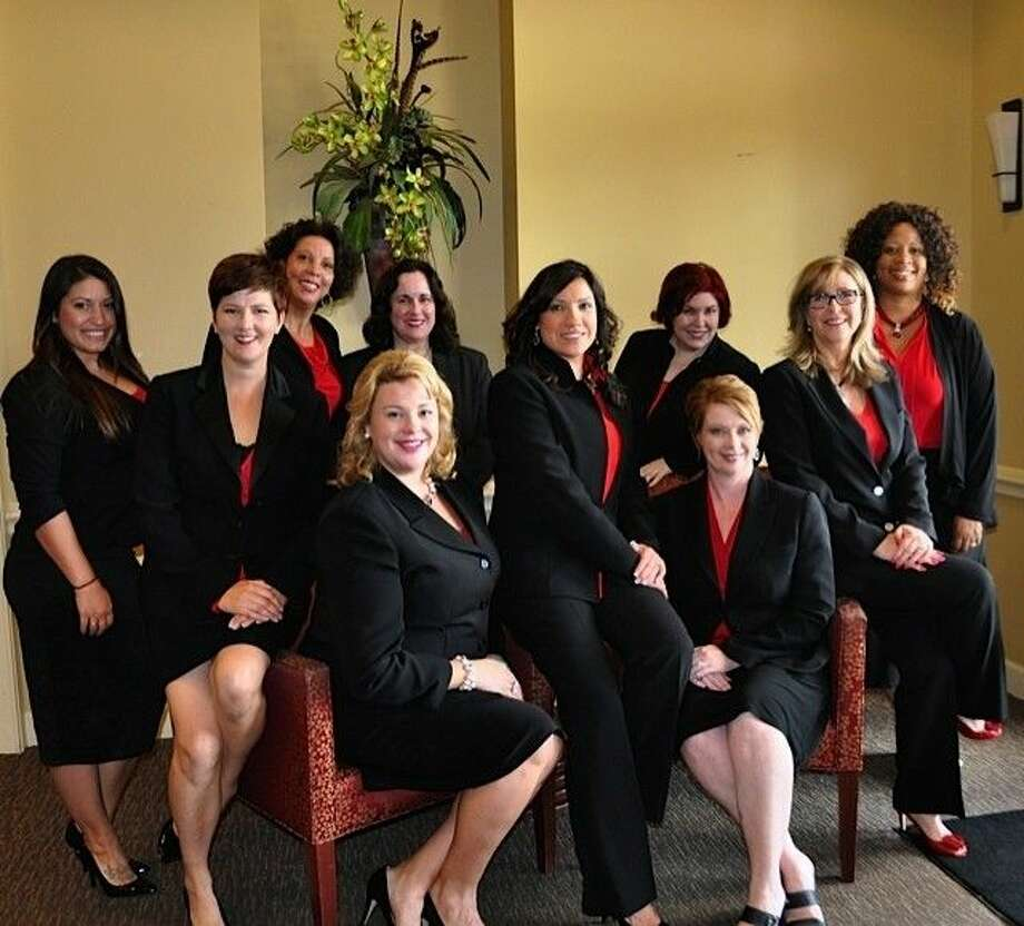 Cy-Fair Express NetworkPictured in back from left are Kristin Severson, Reba Charleston, Jacqueline Pierson, Jill Manty and Sonja Rucker-Hines; and in from from left are Lynda O'Donnell, Melanie Hugele, Jessica Smith, Nicole Travis and Casey Cargle. Photo: Cy-Fair Express Network