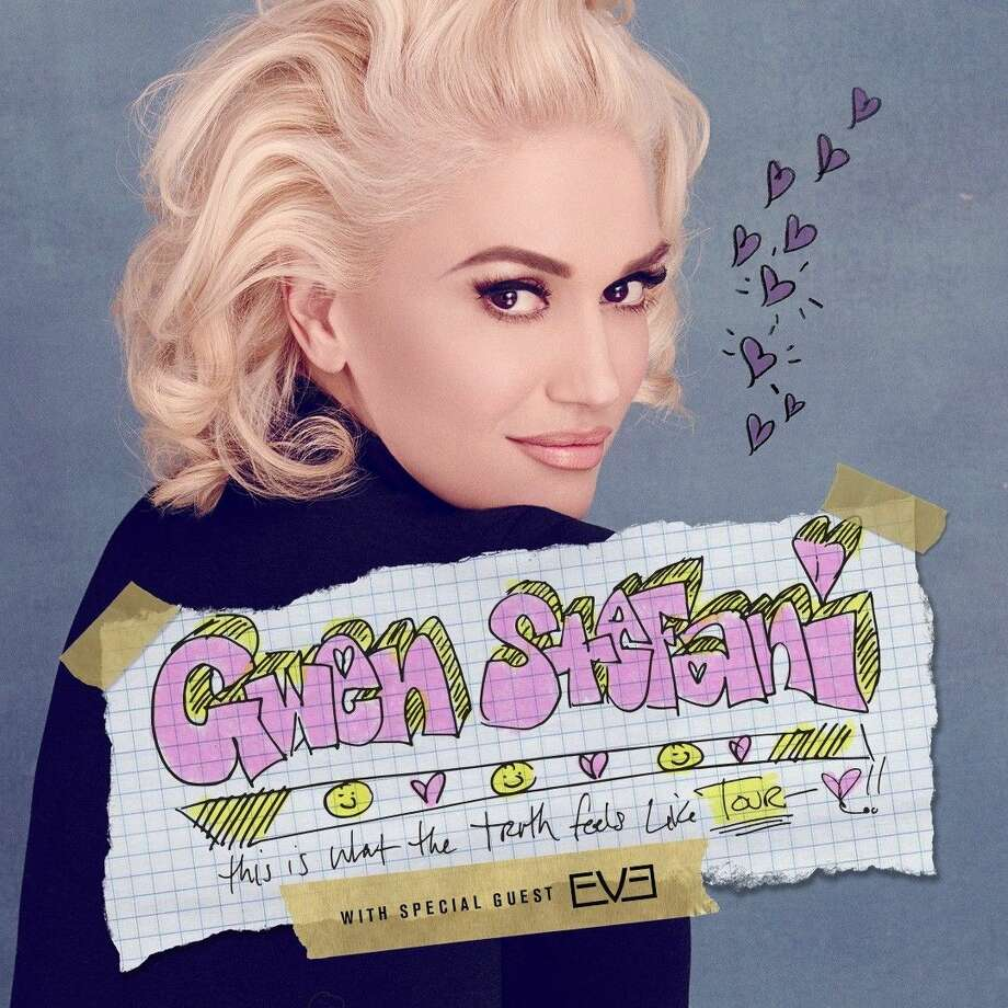 Gwen Stefani will stop in The Woodlands at Cynthia Woods Mitchell Pavilion on Aug. 14. Photo: Courtesy Photo