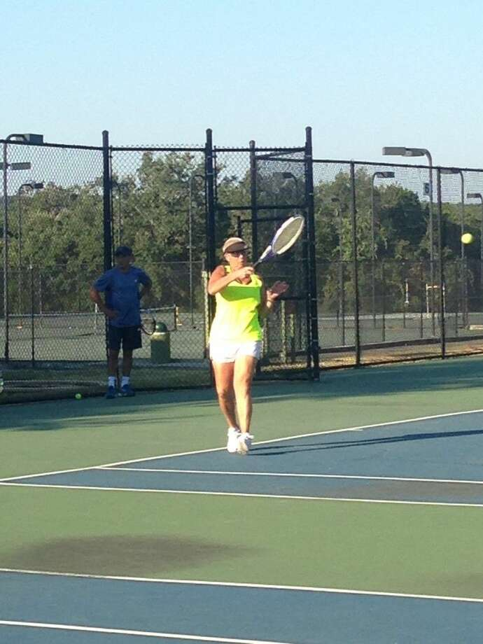 Pam Appelhans, 56, played tennis at KCC for more than 20 years, participating in the Houston Ladies Tennis Association and United States Tennis Association leagues.