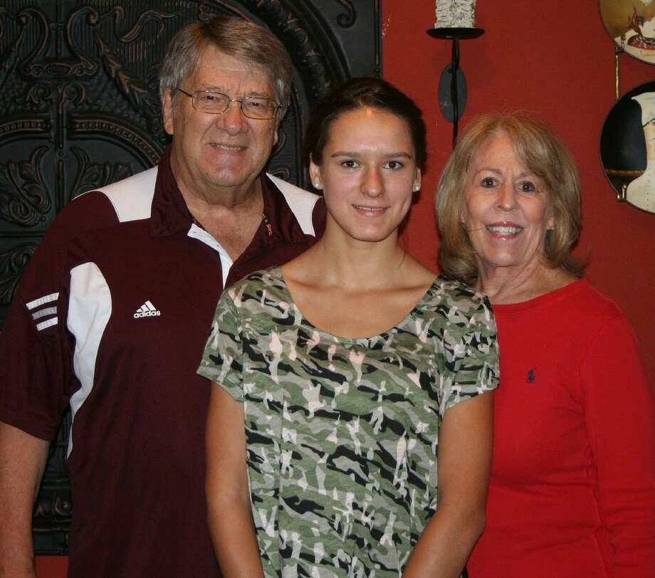 German exchange student Caren Sausmikat is currently staying with the Don and Ernestine Belt family in Cleveland as part of the Rotary International Exchange program. Photo: STEPHANIE BUCKNER