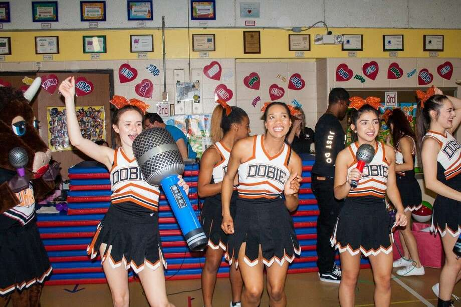 The Dobie High School Cheerleaders have been part of the Durrs Jump Rope for Heart events for the past 30 years.