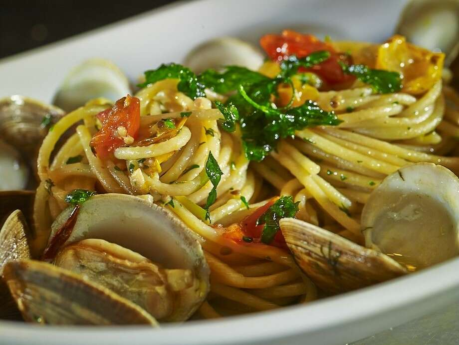 Chef Giancarlo Ferrara's beautiful seafood dishes continue to dazzle at Amalfi. Photo: Courtesy Photo