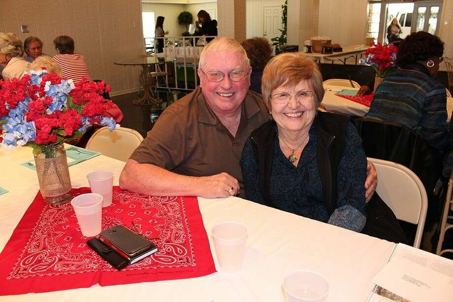 Residents enjoy a luncheon at Greenwood Forest Residents Club, located at 12700 Champion Forest Drive. Photo: Submitted