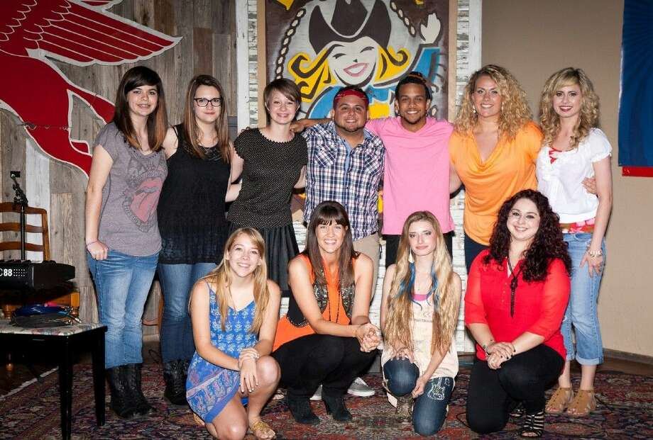 Courtesy photoMusically-talented students in Montgomery County gathered together over the summer for a music and vocal showcase at Dosey Doe Music café on FM 1488 in Conroe.