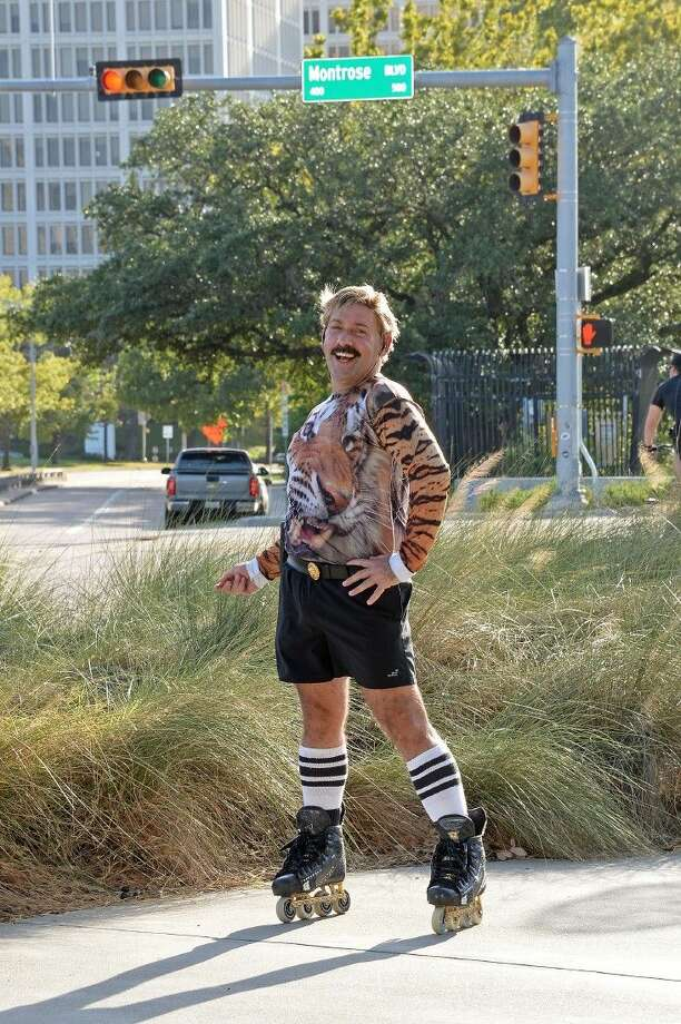 Juan Carlos competed in the ninth season of America's Got Talent in 2014. He can be seen inline skate dancing on Allen Parkway and Montrose most evenings.