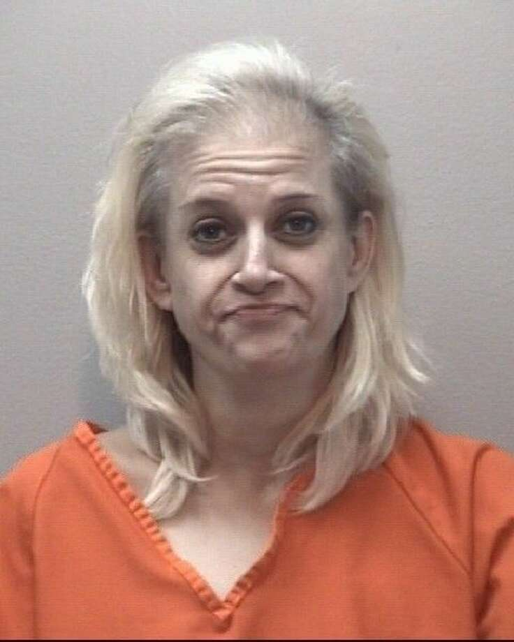 Laura Arnolad, 39, of Houston was arrested by Wesbter Police on felony drug-related charges following a narcotics investigation at a Webster hotel Thursday (Aug. 6). Photo: Webster Jail