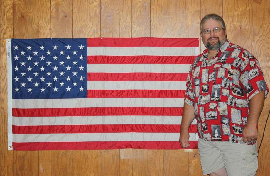 New VFW Post 1839 Commander Brad Newby is working to bring new members to the organization. Photo: Stephanie Buckner