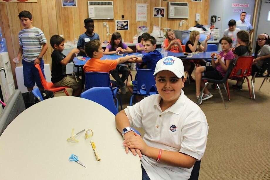 Adeeb Al Balooshi, 11, is an inventor from Dubai.