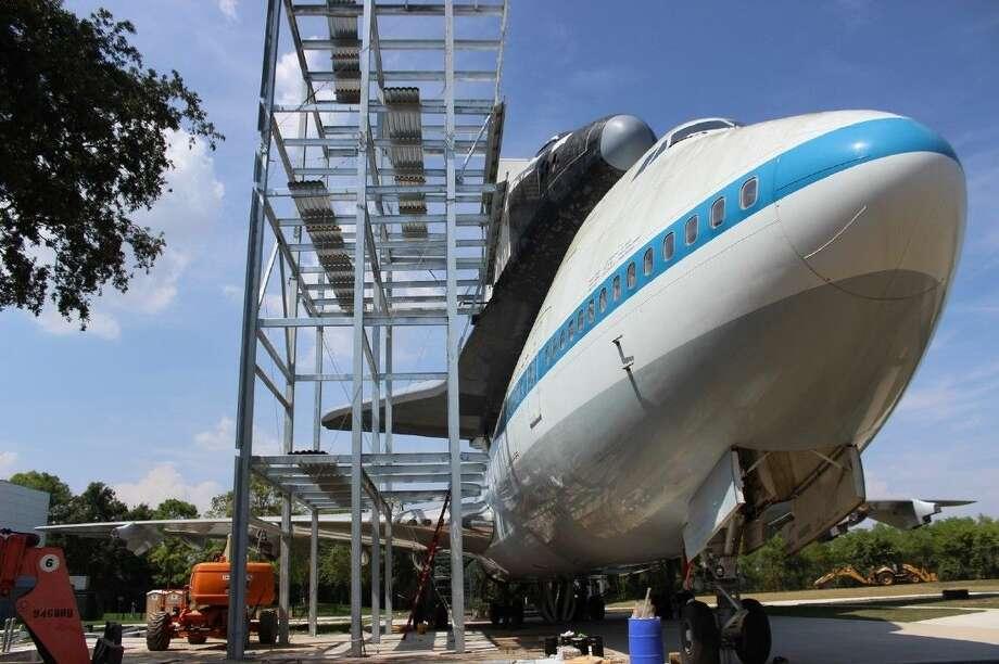 Space Center Houston will open the new international landmark Independence Plaza on Jan. 23.