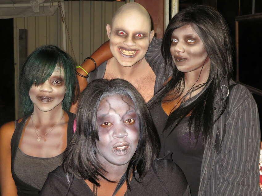 ScreamWorld Scream Park 2225 N. Sam Houston Parkway W., Houston Enjoy The Swamp, Jake's Slaughterhouse, Edge of Darkness, Asylum Maze and Zombie Graveyard.