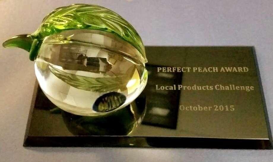 Perfect Peach Award.