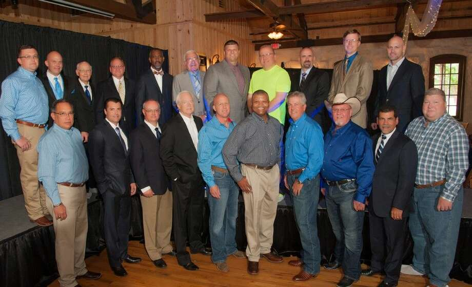 Watch the real men of Montgomery County strut their stuff at the Conroe/Lake Conroe Chamber of Commerce's Real Men of Montgomery County Style Show Luncheon Aug. 27. The event benefits CASA Child Advocates of Montgomery County. Pictured are models from the event in 2014.