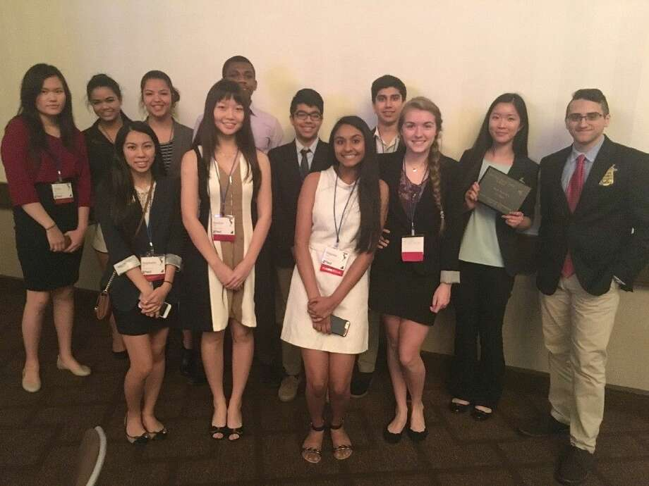 The Cypress Woods High School Future Business Leaders of America (FBLA) team placed third overall in the March of Dimes competition at the FBLA State Leadership Conference, March 3-5 in Houston.