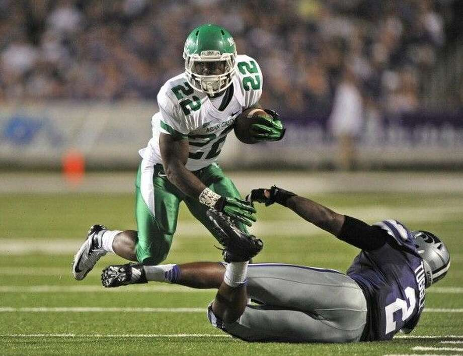 North Texas running back Antoinne Jimmerson is among Conference USA's top rushers returning this year.