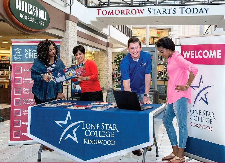 LSC-Kingwood will have an informational booth at Deerbrook Mall from May 3-July 30. For more information, call 281-312-1600.