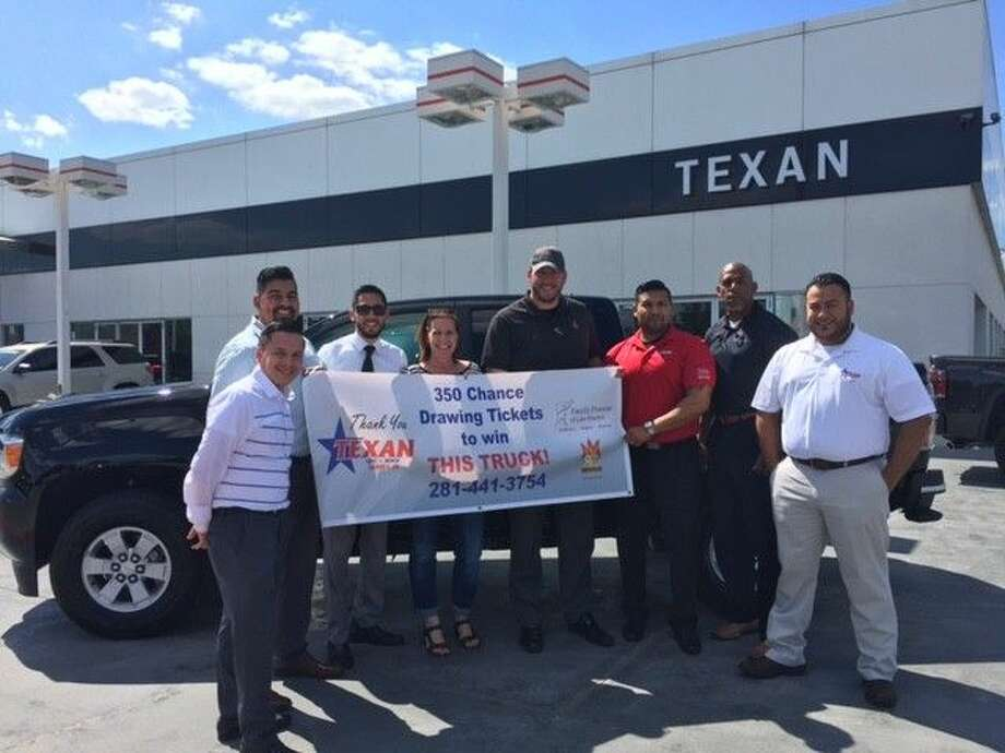 Texan GMC Buick and Dodge donated the truck which will be raffled off during the event. Guests had the chance to buy tickets beforehand as well and only 350 were sold.