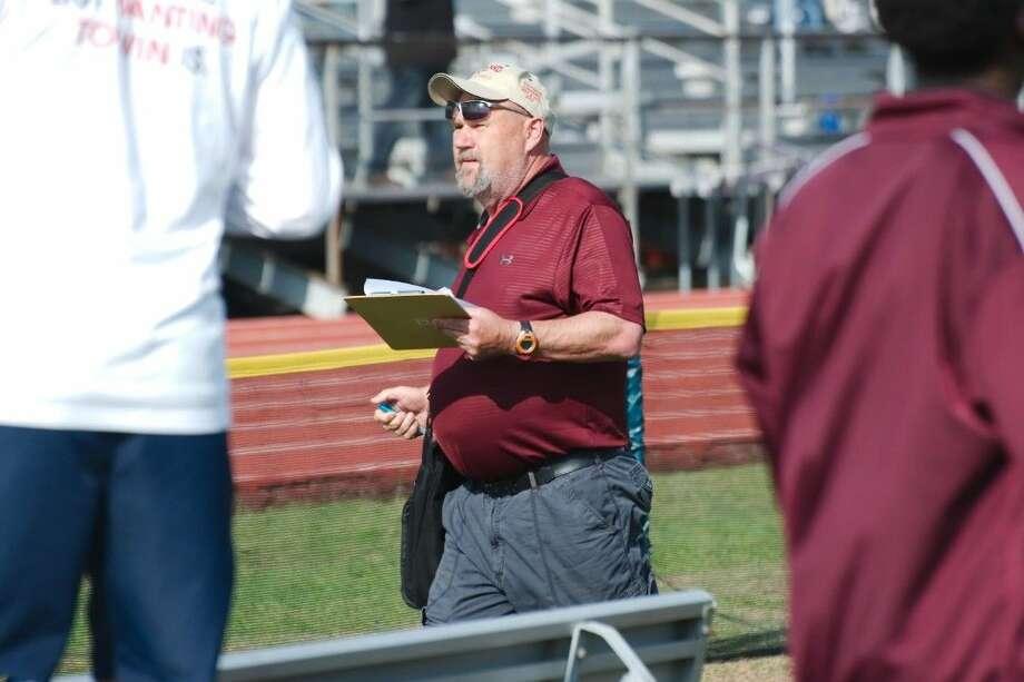 Longtime Pearland and Clear Creek ISD track coach Fred Armstrong will wrap up a 35-year coaching career next month. Photo: Kirk Sides