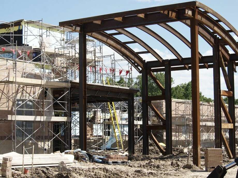 Shown here is the construction site at Richter Elementary, Saturday, April 23, 2016. Photo: Casey Stinnett