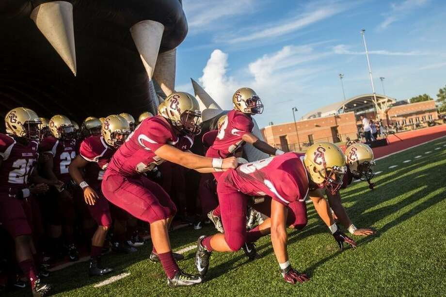 Photos from Summer Creek's matchup against Pasadena Memorial on Aug. 28, 2014, at Turner Stadium in Humble.