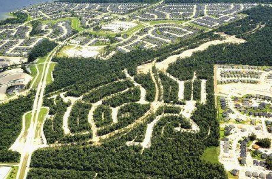 SubmittedAerial view of The Groves.