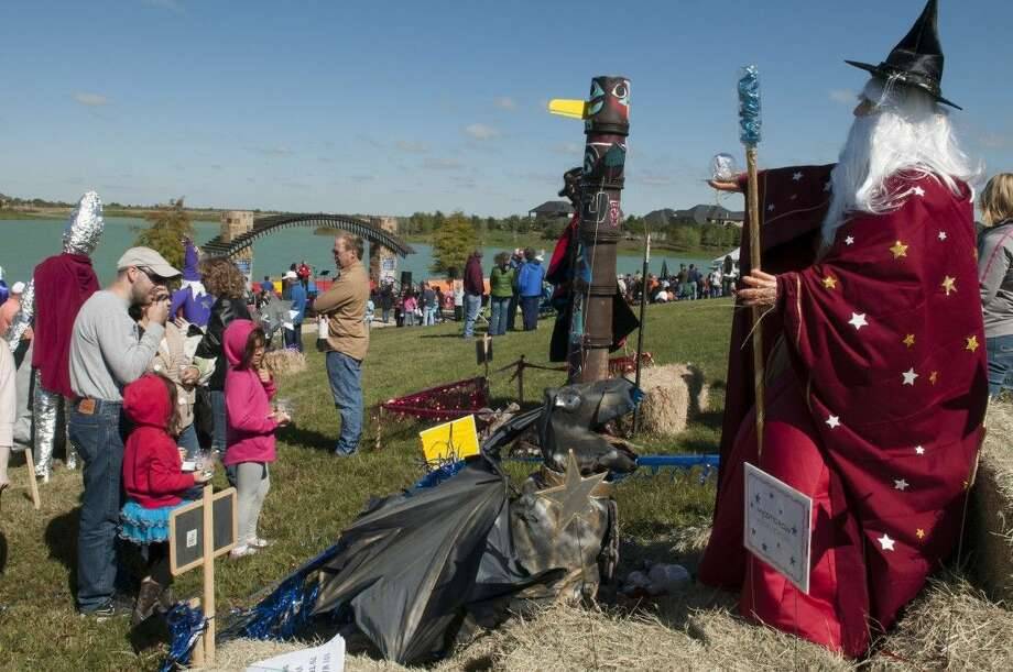 A scene from last year's Fulshear Scarecrow Festival, which returns to Cross Creek Ranch on Saturday, Oct. 18. Photo: Submitted