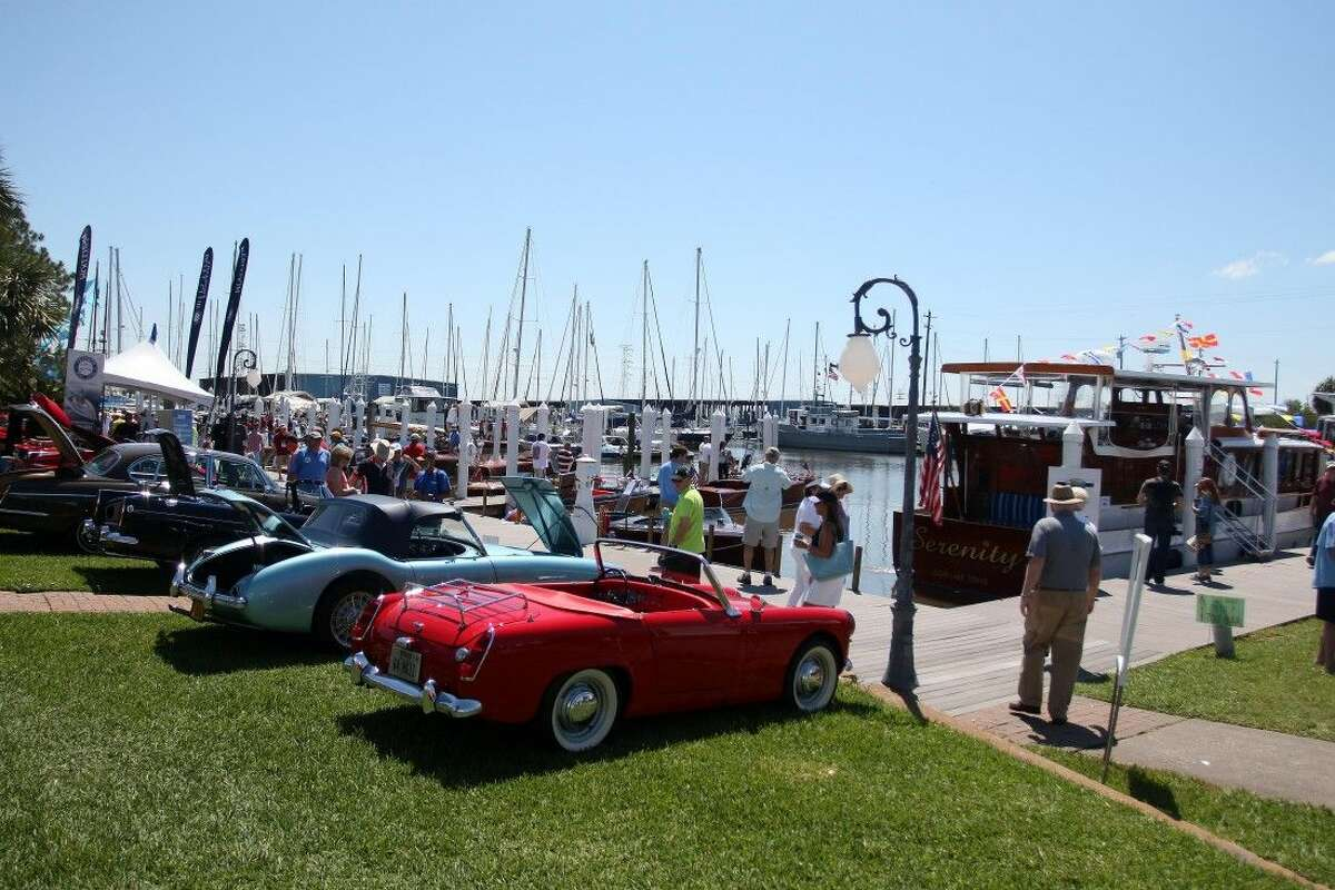 Keels and Wheels is always a very popular event where classic cars and an assortment of boating vessels are in the same area.