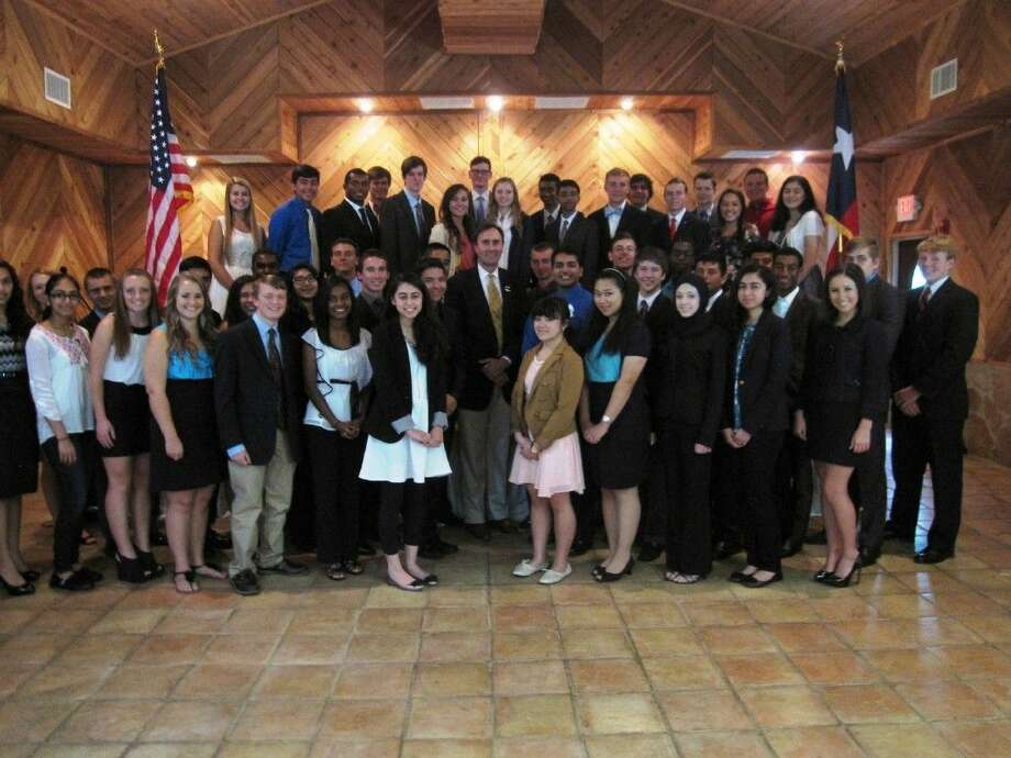 Rep. Pete Olson's 2014-2015 Congressional Youth Advisory Council. Photo: Submitted