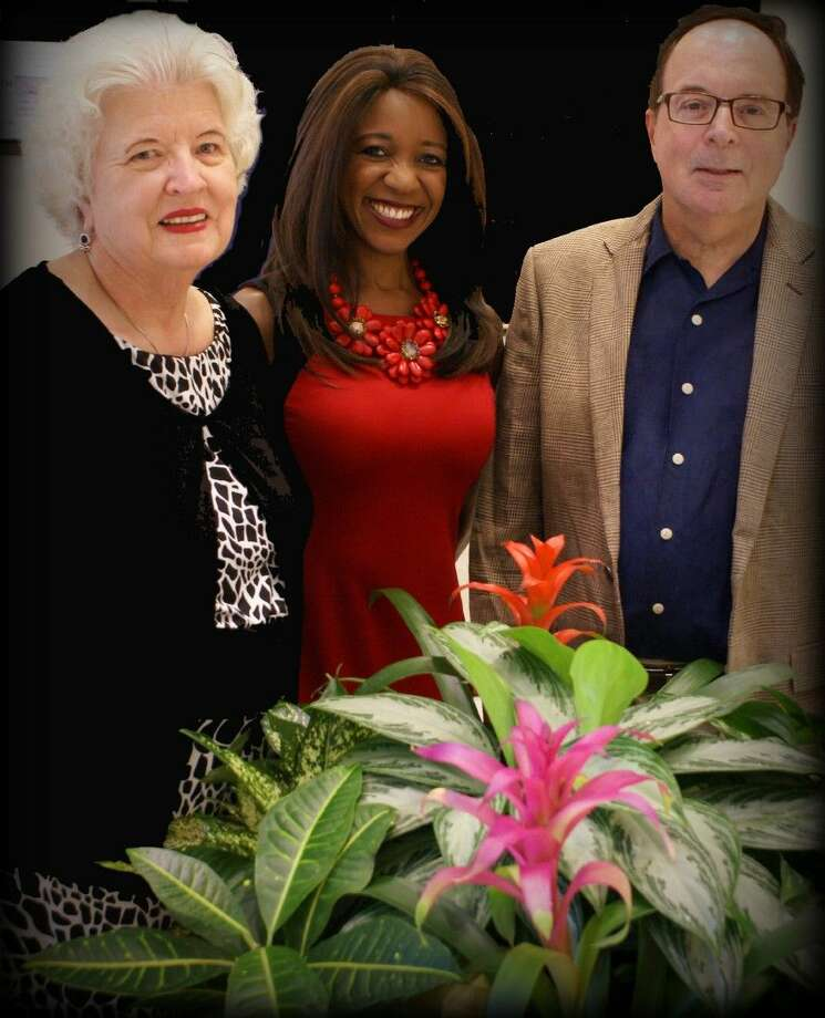 Left to right: FBFN Foundation President Carole Kanusky, Fox 26 news analyst and Baly Projects CEO Jacquie Baly and Ken Kaser, director of the University of Houston Conrad Hilton Hotel College's Sugar Land program. Photo: Submitted