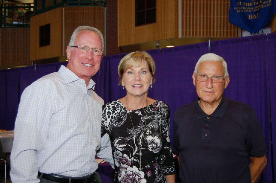 Courtesy photoFrom left: Scott and Kathie Wolford, Corporate Medical Systems, Inc., and Jerry Hantman, scholarship donors.