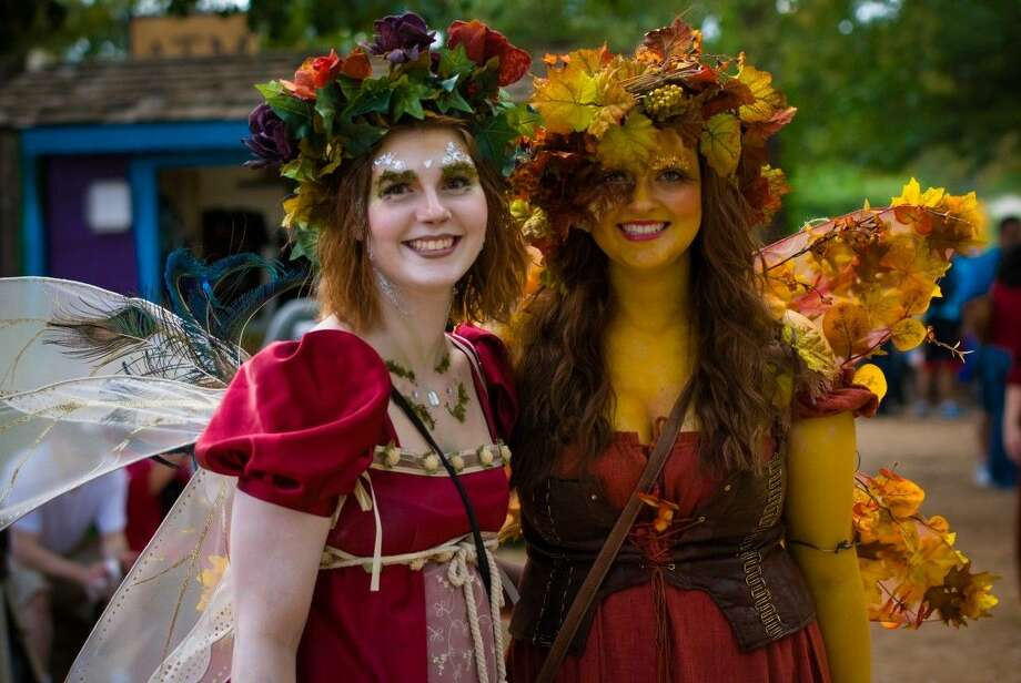 Courtesy photoFestival goers at the Texas Renaissance Festival. The festival will host its annual job faire Saturday and Sunday at the festival grounds in Todd Mission starting at 9 a.m.