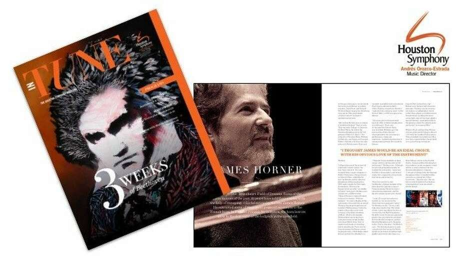 Houston Symphony's new-look magazine revealed.
