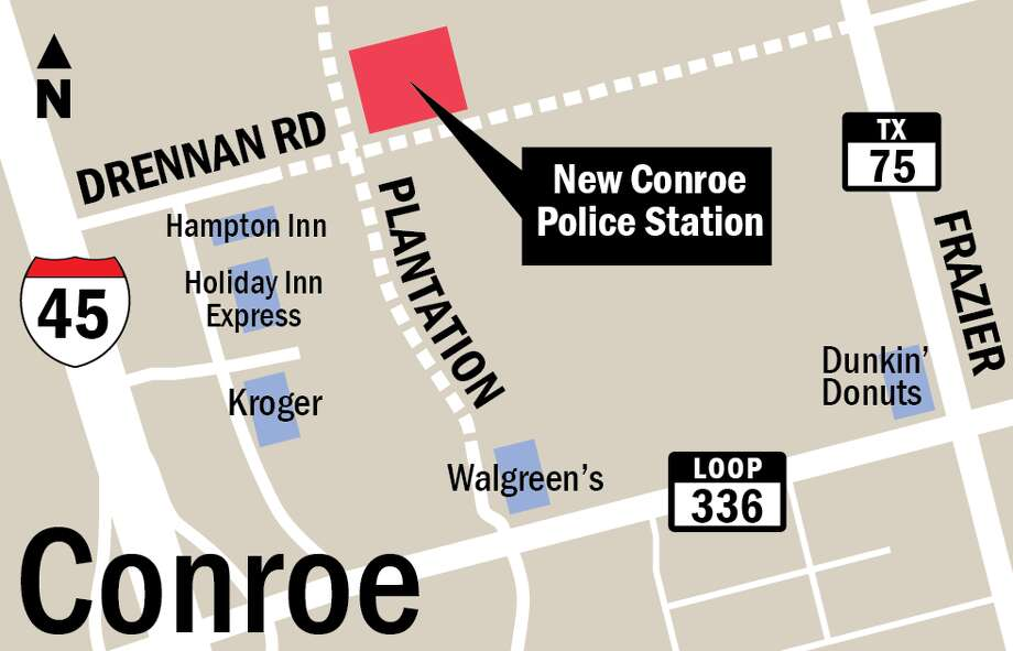 Council approves new cost for Conroe police station, encourages local subcontractors
