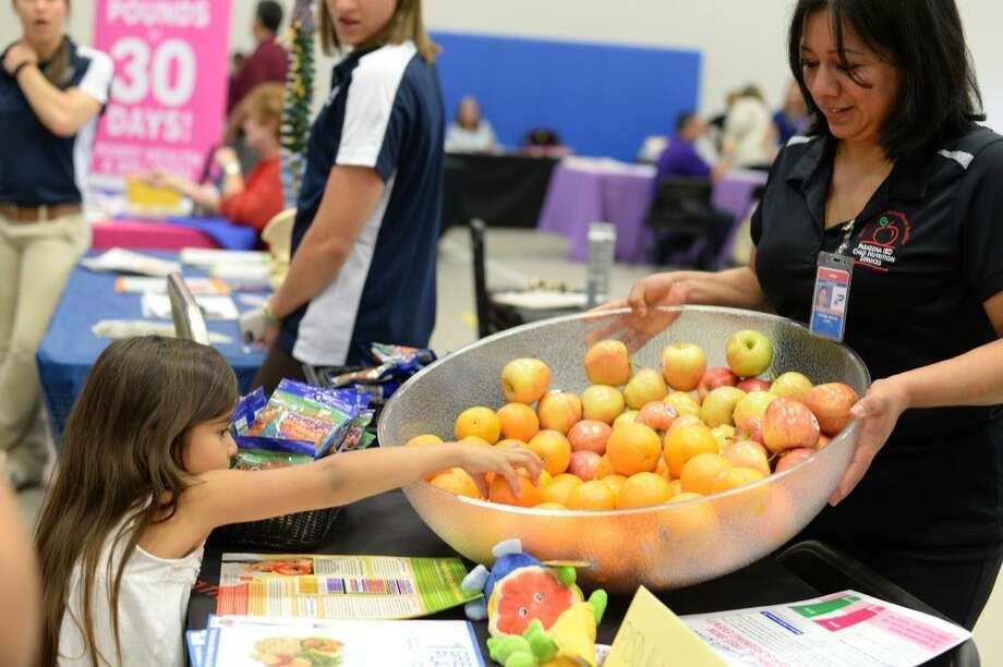It was a packed house at the Shaver Elementary gymnasium on Tuesday as students and their families took part in the school's annual Family Health Fair.