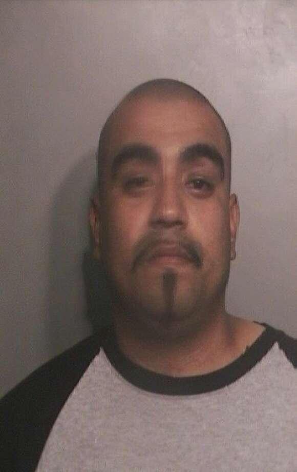 "Gallegos, BenjaminHispanic MaleDOB 03-05-765'7"" / 160 lbsBrown eyes / Black hairAggravated Assault with a Deadly Weapon"